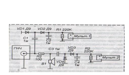 Для достаточно точного определения резонансной частоты необходим низкочастотный генератор синусоидального сигнала...